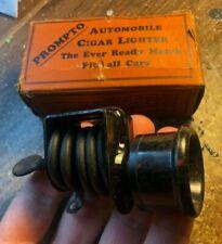 NOS Antique Original Auto Dash Accessory Part Vintage
