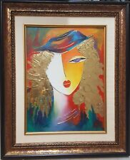 """Arbe - """"Ready"""" Original Oil on Canvas. Hand Signed with Cert of Auth"""