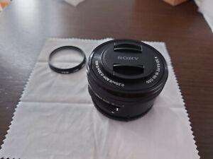 Sony Alpha SELP1650 16-50 mm F/3.5-5.6 E PZ OSS Objektiv schwarz