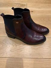 Burgundy Chelsea Boots size 7UK! Eu 40