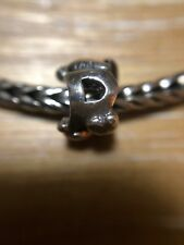Authentic Trollbeads Letter Bead P Sterling Silver 925 EUC