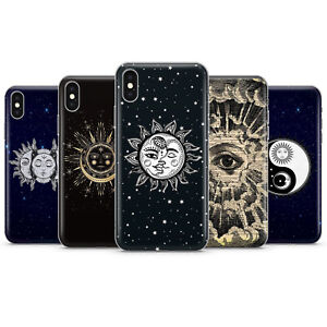 SUN AND MOON Mystic Zodiac Symbol Eye Mason Trust Phone Cases covers iPhone 12