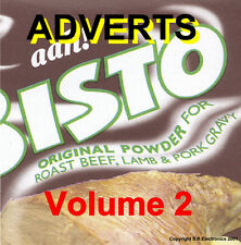 Commercials - TV Adverts Volume 2 1950's 60's 70's (NEW) (Audio CD)