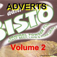 Commercials - TV Adverts Volume 2 1950's 60's 70's (NEW) (Audio CD)