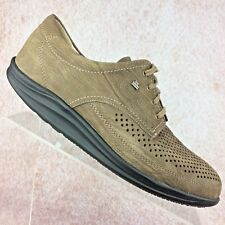 FINN COMFORT Leather Walking Oxford Perforated Lace Up Shoes Women's 7 UK/9.5 US