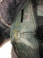 Next 1982 Blue Mixed DENIM CROPPED Jeans Women's SIZE 6