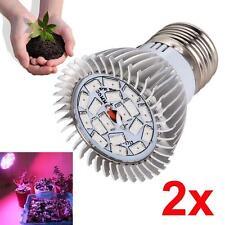 New listing 2X 18W 18Led Grow Light Flower Plant Garden Hydro Flood Lamp Flower Vegetable Mt