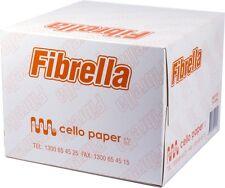 Fibrella Cello paper Facial Wipes Absorbent 75pk 33cmx33cm - Free AU POST