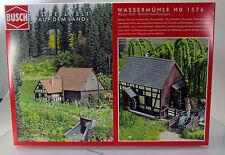 Busch 1576 Bausatz :  Wassermühle H0