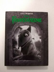 Disneys Frankenweenie Bluray Rare With Slip Cover And Cards
