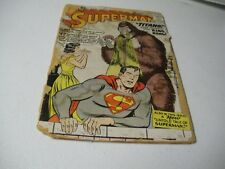 Superman #127 Feb. 1959 Origin & First Appearance Of Titano Poor
