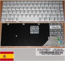Qwerty Keyboard Spanish ASUS W3 W3A W3J A8F F8 V020662CK1 0KN0-712SP11 Grey
