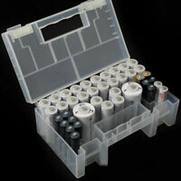 NEW Portable Hard Plastic Case Storage Box Holder Organiser for AA AAA C Battery