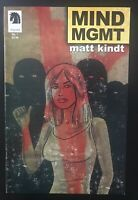 Mind Mgmt #1 Variant Dark Horse Comic Book