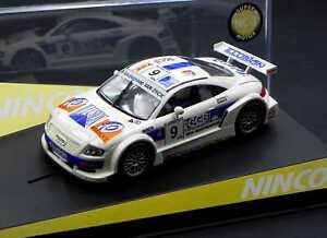 Ninco Audi TT-R Belcar Super NC5 Motor slot car 1:32 MIB ref 50327