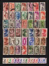 Lebanon - 58 older stamps - check scan for better values . . .