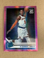 2019-20 Optic RJ Barrett Rated Rookie Pink Hyper Prizm 178 Knicks Panini Donruss