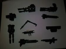 Lot Of 10 G1 Transformers Weapons And Armor 1980s missile launcher