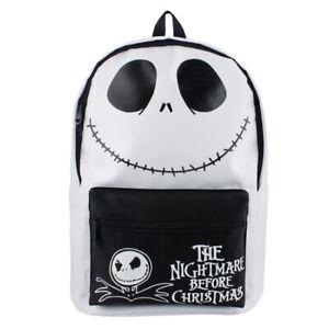 The Nightmare Before Christmas Backpack Boys Girls AdultSchool Bags Cosplay Prop