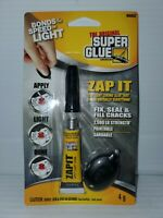 SUPER GLUE 90002 Instant Adhesive,Tube,Clear,4g