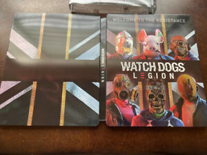Watch Dogs Legion (Gold Edition Steelbook) Only No Game