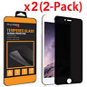 Privacy Anti-Spy Tempered Glass Screen Protector for iPhone X 6 7 8 Plus XS Max