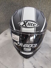 Integral Helm X-lite X-603 Ride n-com matt schwarz/weiss, Gr. XL