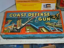 Vintage Wooden and Metal Coast Defense Set(VF)1940's
