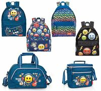 EMOJI OFFICIAL Backpack Rucksack Travel Duffel Work School Bag Holiday Lunch Bag