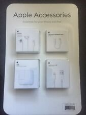 NEW Apple Accessories Bundle EarPods USB Headphone Jack iPhone and iPad