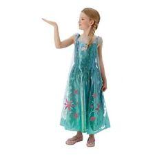 Polyester Elsa Fancy Dresses for Girls