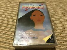 POCAHONTAS SPANISH CASSETTE TAPE SPAIN WALT DISNEY OST ORIGINAL SOUNDTRACK