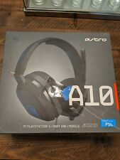 ASTRO Gaming A10 Gaming Headset- Grey/Blue