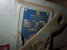 Square D SD3203 Round Bar Fusible Busplug 30A 3PH 3W 240V