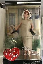 I Love Lucy Barbie Lot of 10 different Barbies Never Removed From Box