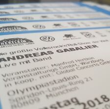 2x ANDREAS GABALIER 16.06 München ARENA INNENRAUM Tickets Stehplätze KONZERT