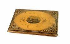 Victorian Mauchline Ware Notebook Notepad Cover Sleeve Hythe Church