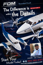 YOUR Custom Painted Beechcraft  King Air, Bonanza, and All Other Beech Airplane