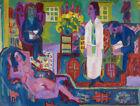 "Ernst Ludwig Kirchner : ""Modern Bohemia"" (1924) — Giclee Fine Art Print"