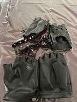 Unknown. Used Once No Tags. Punk Goth Studded Leather Gloves