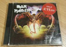 Iron Maiden Live at Donington 1992 2cd enhanced multimedia CD