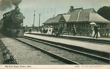 SHELBY OH – Big Four Railroad Depot - 1908