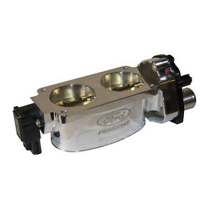 NEW OEM 07-14 Ford Mustang Shelby CFM Twin 65mm Polished Aluminum Throttle Body