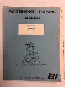 Braniff Intl DC-8-60 Maint Training Manual Hydraulics  Chapter 29 1967 Original.