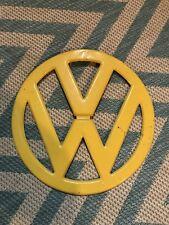Original 1955-67 Volkswagen VW Split Bus Front Emblem Kombi Westfalia Repaint