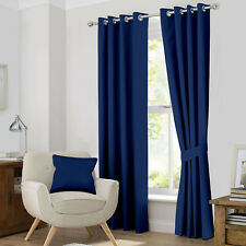 "2 PANEL Blackout Curtains Grommet Window by Ample Decor (46"" X 63""/84""/95"")"