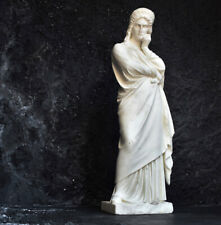 Solid Hand Carved Marble Statue Early 20th Century
