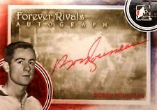 11-12 itg game forever rivals bobby rousseau montreal canadiens autograph auto