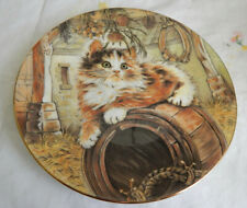 "Country Kitty Plate Kitten Classics 8 1/4"""