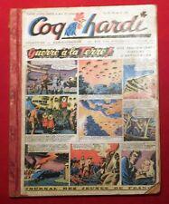 COQ HARDI Album éditeur n°8 - n°94 à 107.  Première série  1948. Moyen état